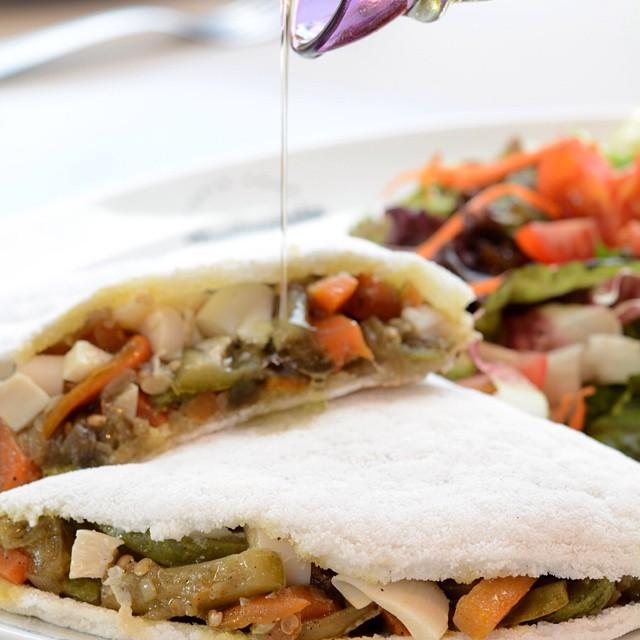 Crepe veggie gluten free